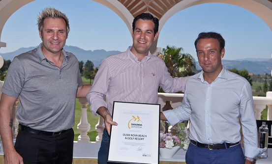 Oliva Nova receives the Award for Sports Excellence
