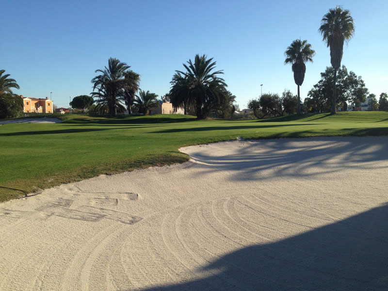 Bunkers improvement in Oliva Nova