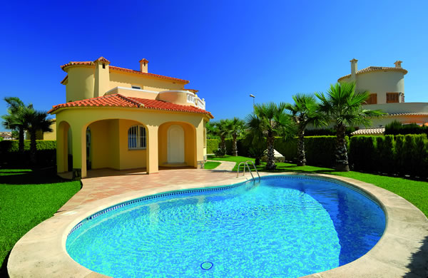 Villas with private swimming pool Oliva Nova