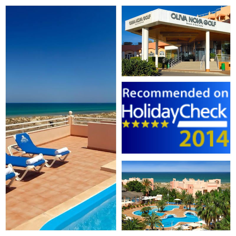 Oliva Nova recibe el sello internacional HolidayCheck Quality Selection 2014